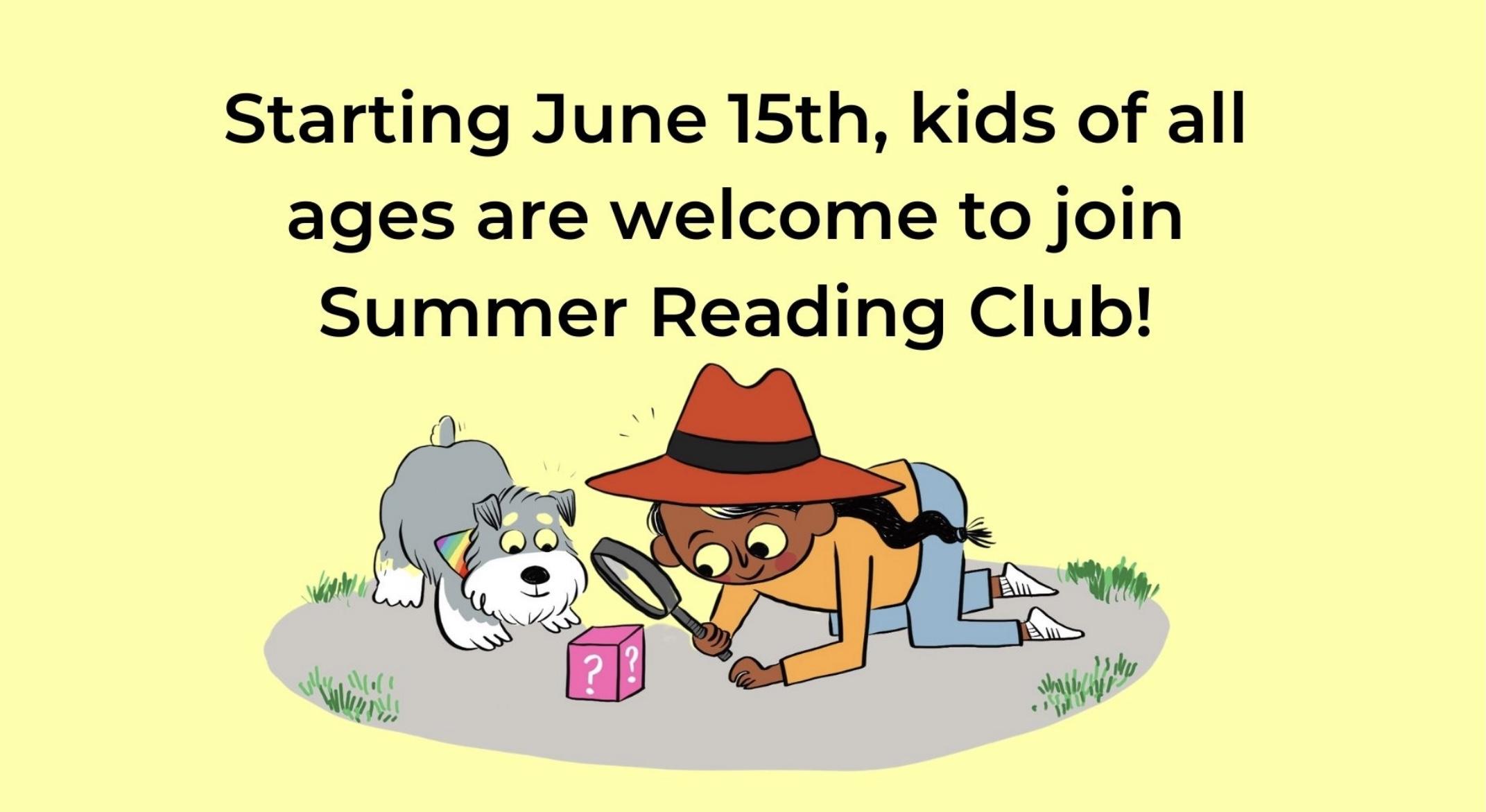 BC Summer Reading Club
